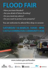 Flood Forum Event for North West Leicestershire